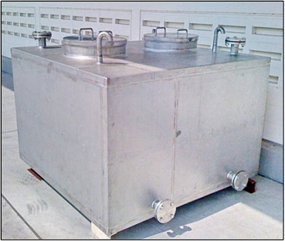 16 Stainless Chill Water Tank