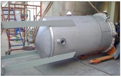 2 Stainless Storage Tank