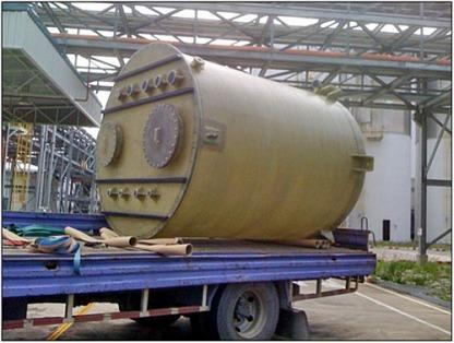1 Fiberglass Tank
