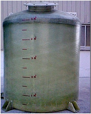 5 Fiberglass Tank